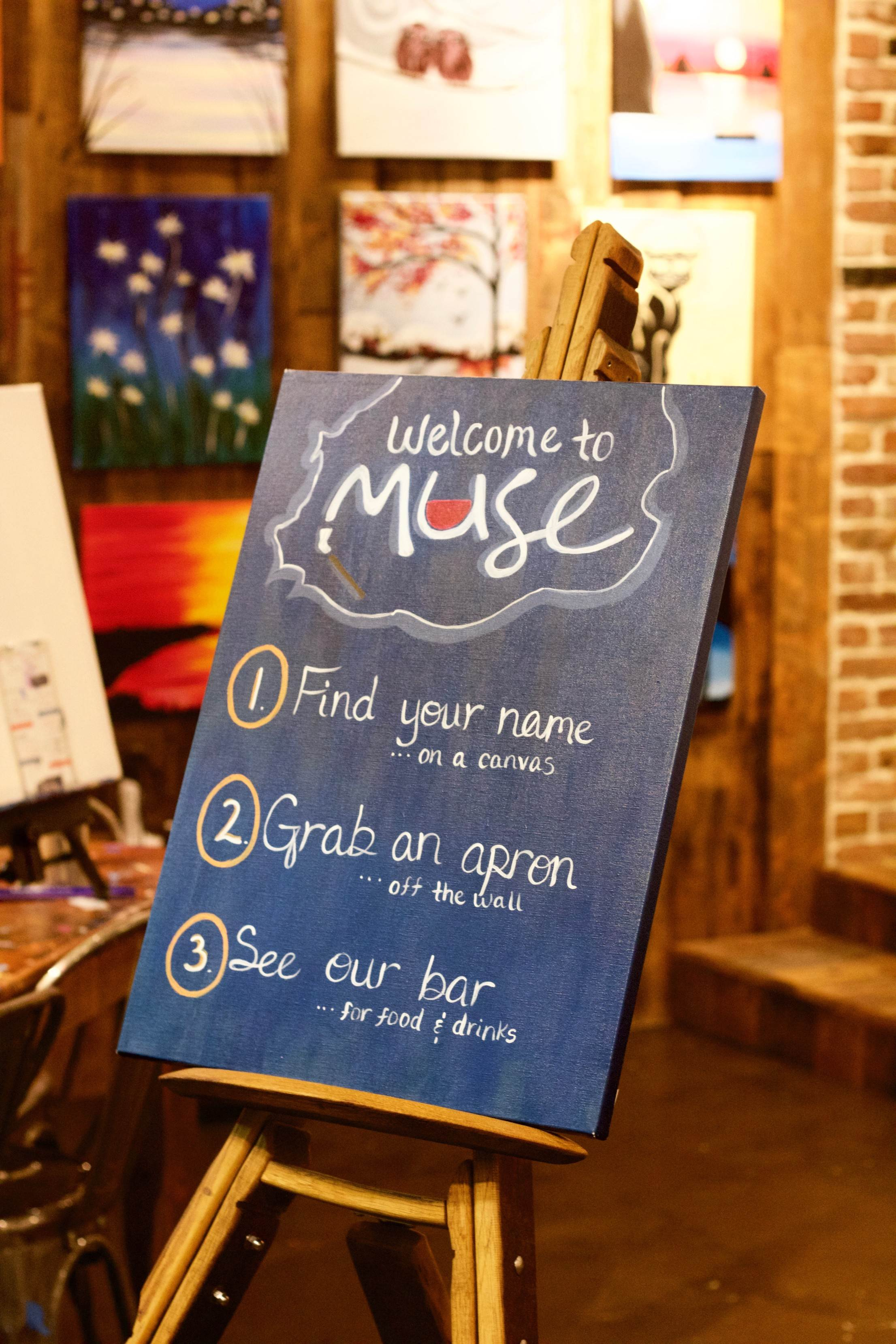 Be My Muse: My Experience at Muse Paintbar // She Saw Style