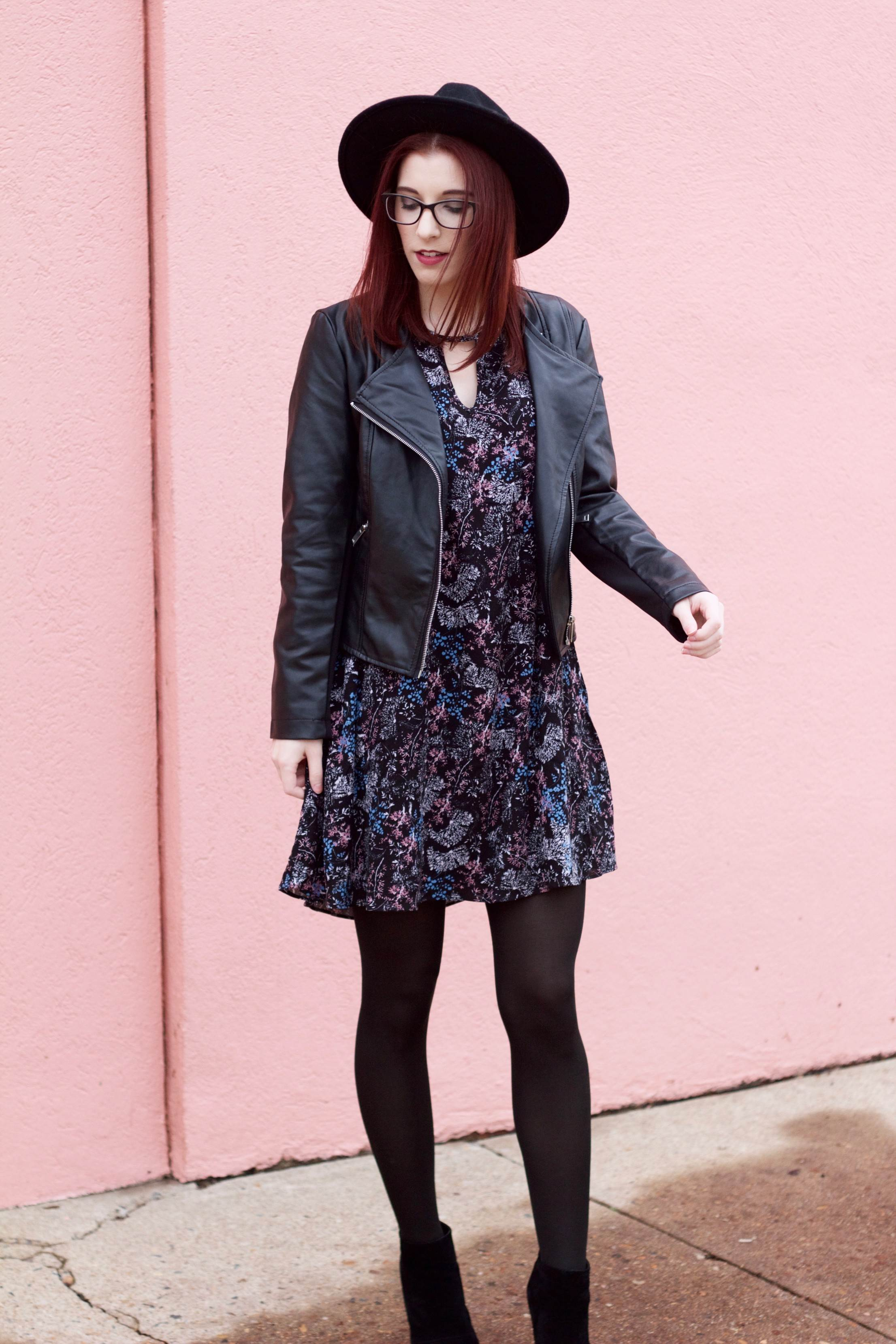 Feminine Florals: Finding A Break Amidst The Craziness // She Saw Style