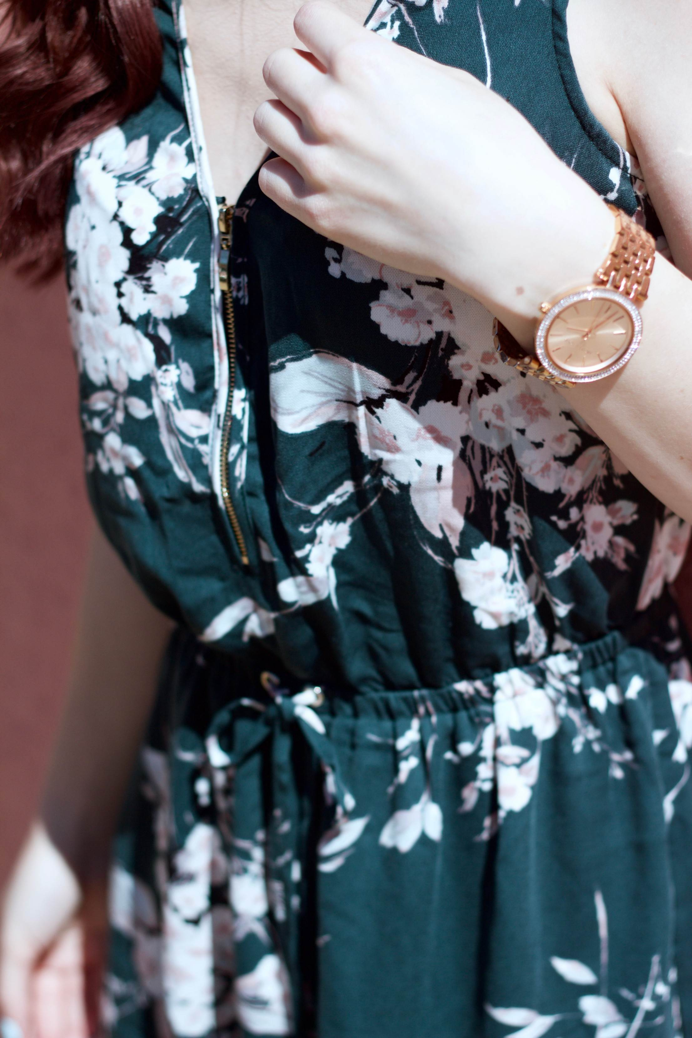 A Floral Encounter: The Dynamite Dress You'll Have on Repeat