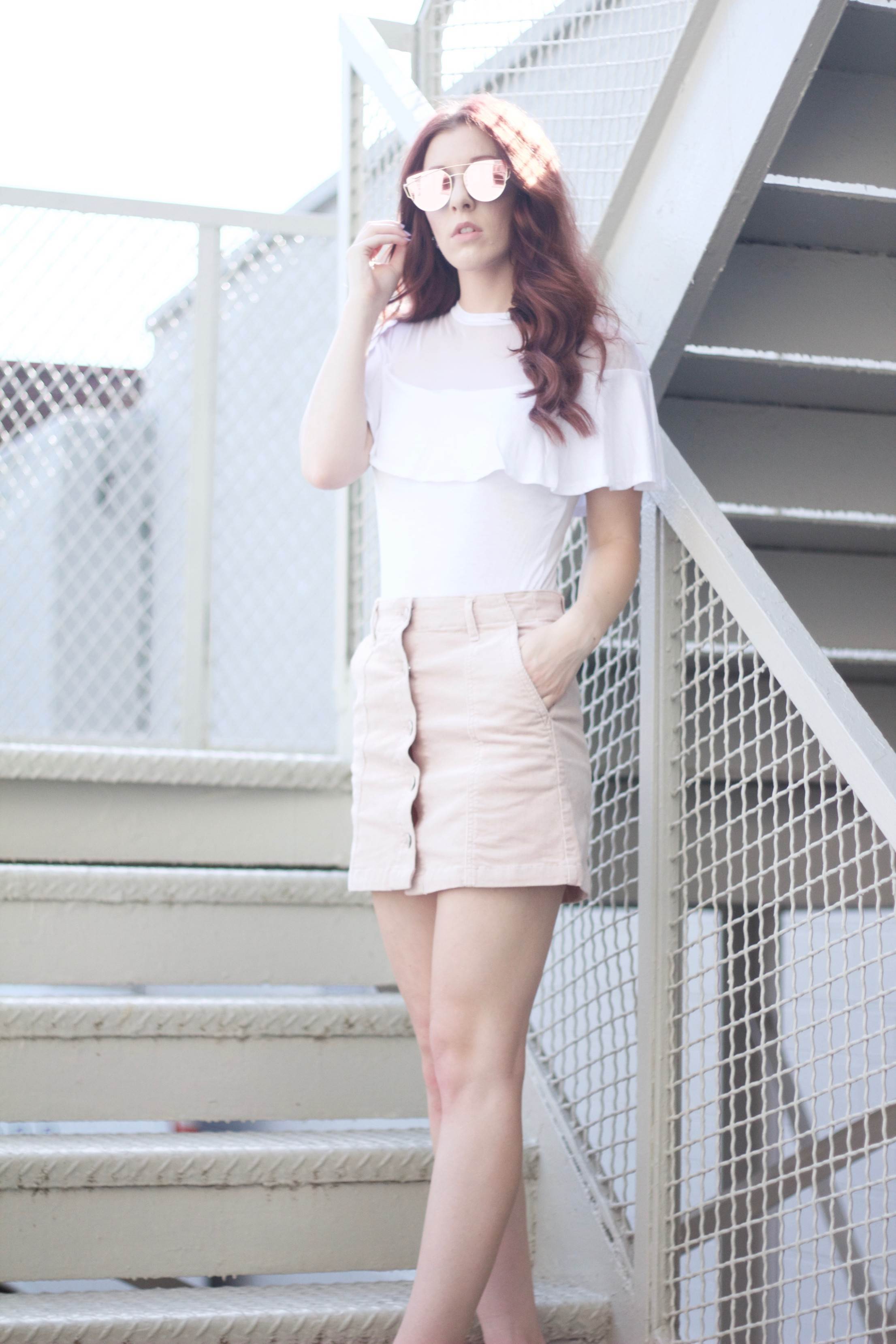 Pastel Princess: Buttons and Ruffles