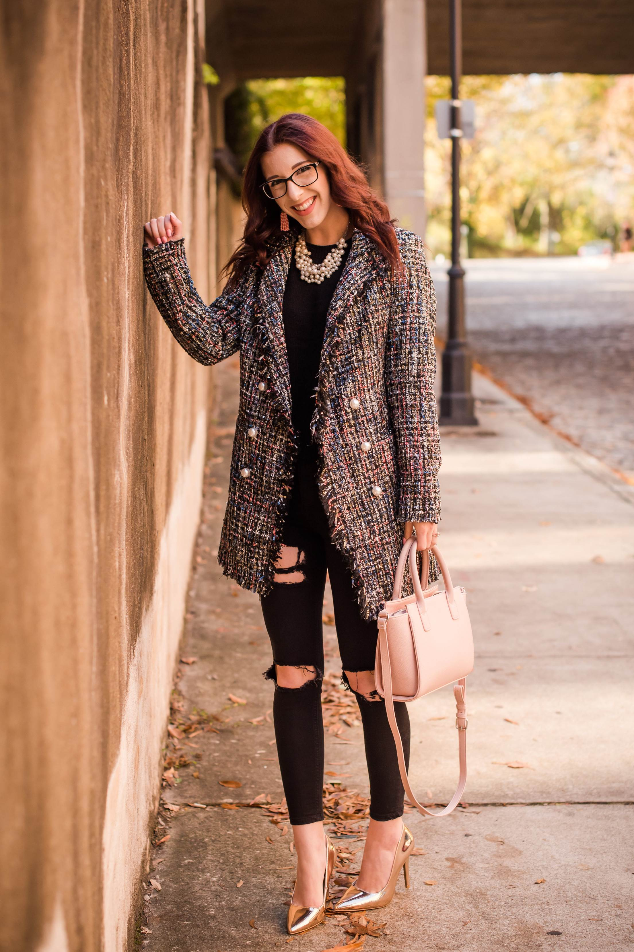 A Coat That IS The Outfit
