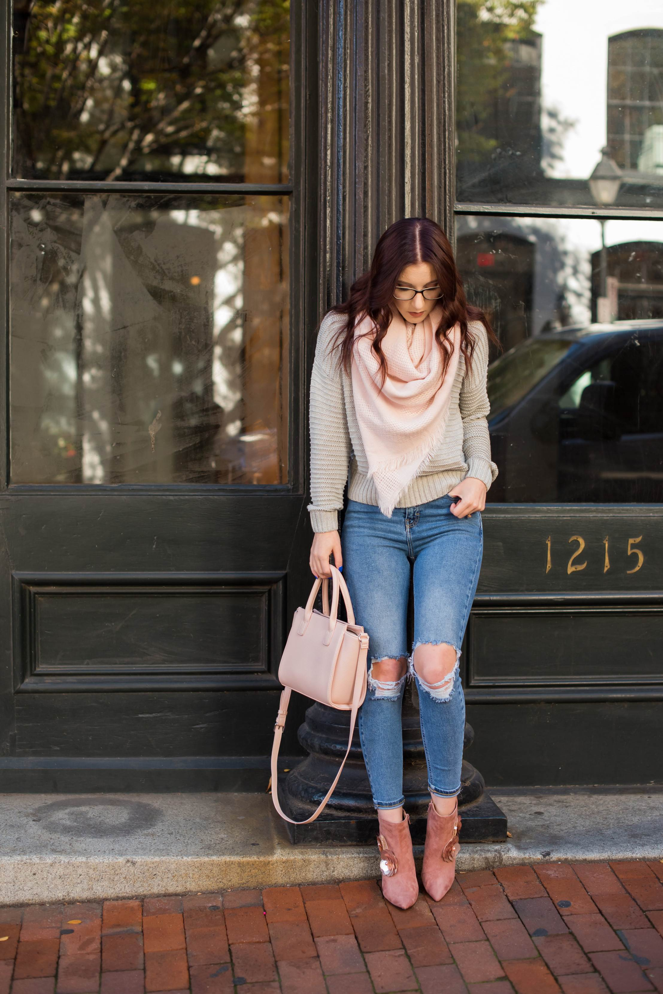 Blush and Gray Cannot Be Beat