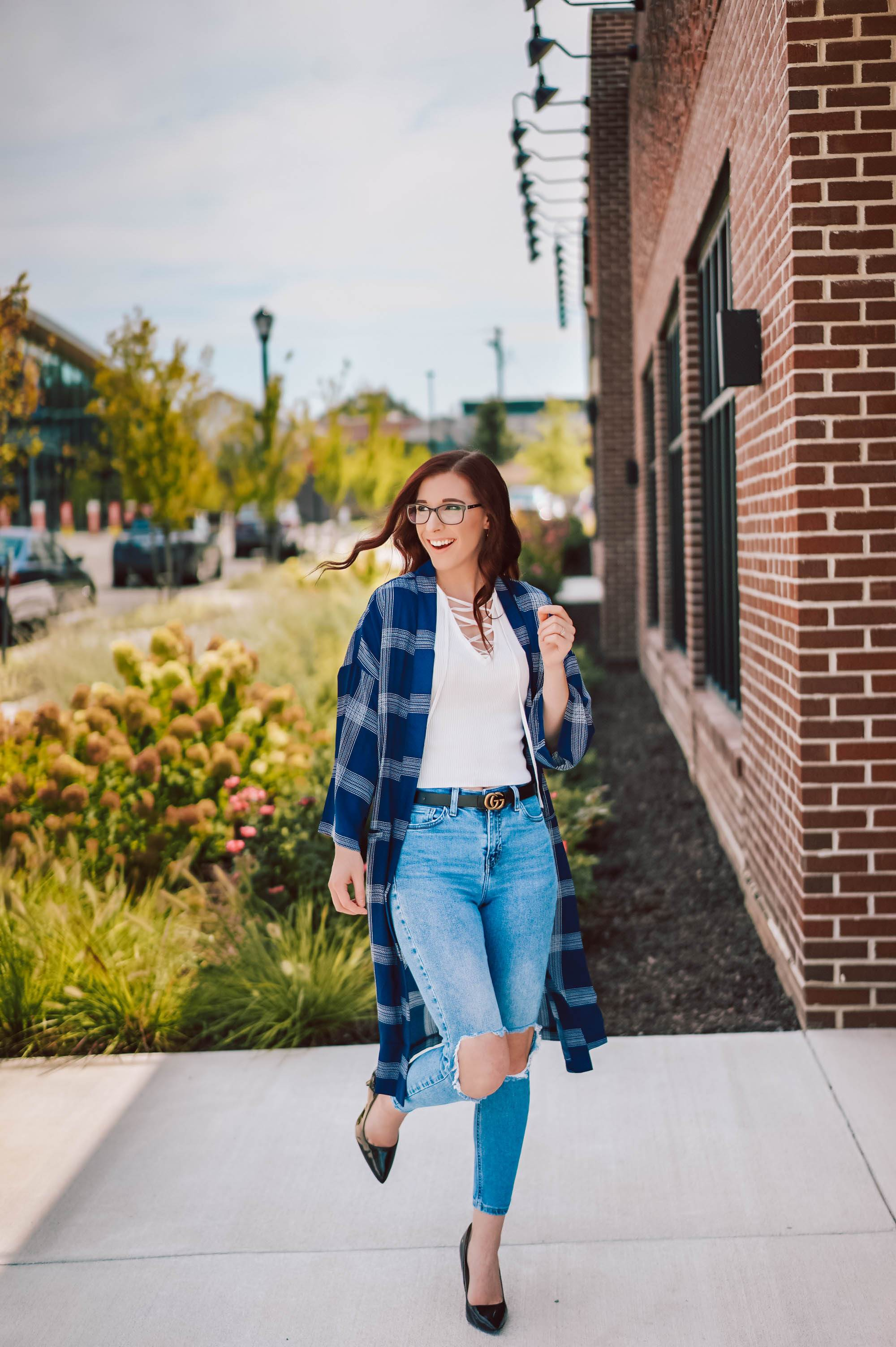 A Plaid Piece for Summer and Fall