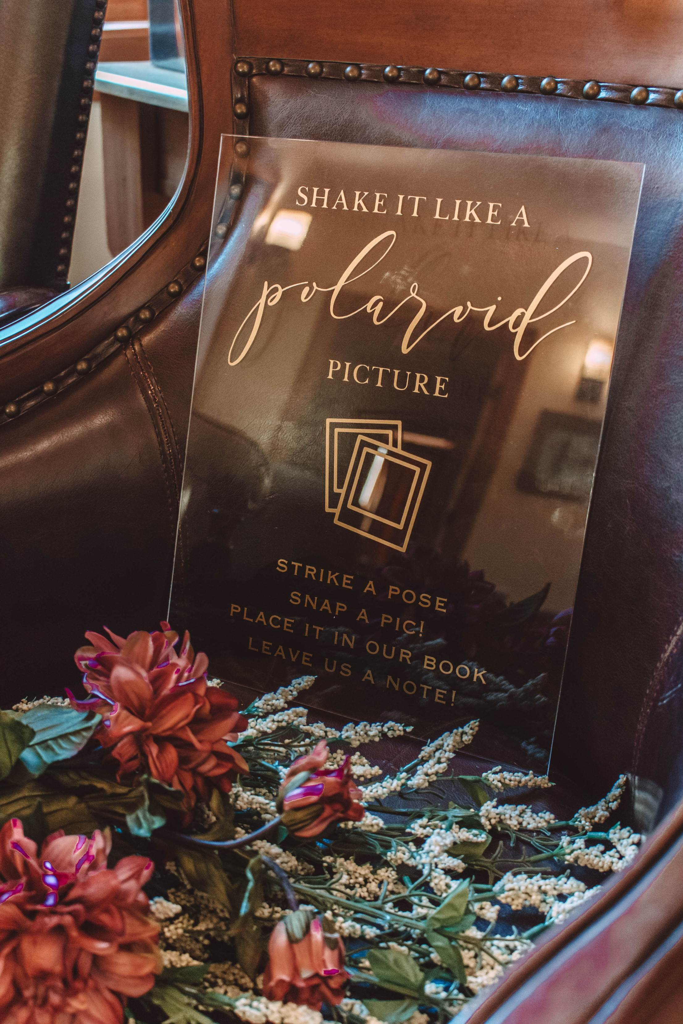 Interview With the Maker of Our Wedding Signs