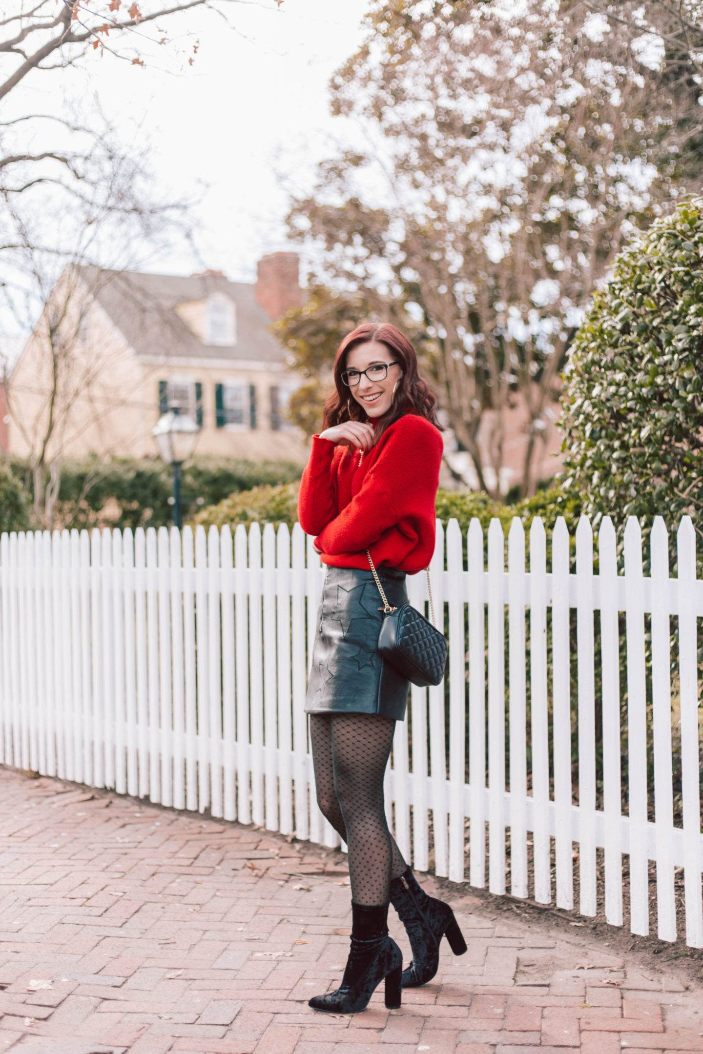 An Easy Way to Dress Up a Chunky Sweater