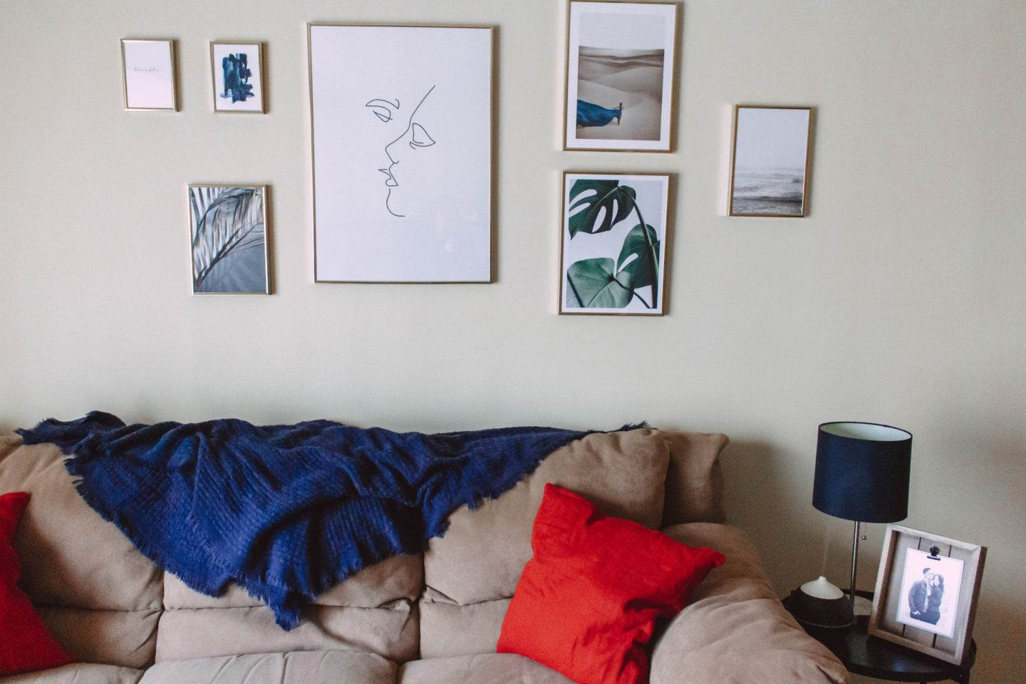 Creating a Beautiful Gallery Wall on a Budget