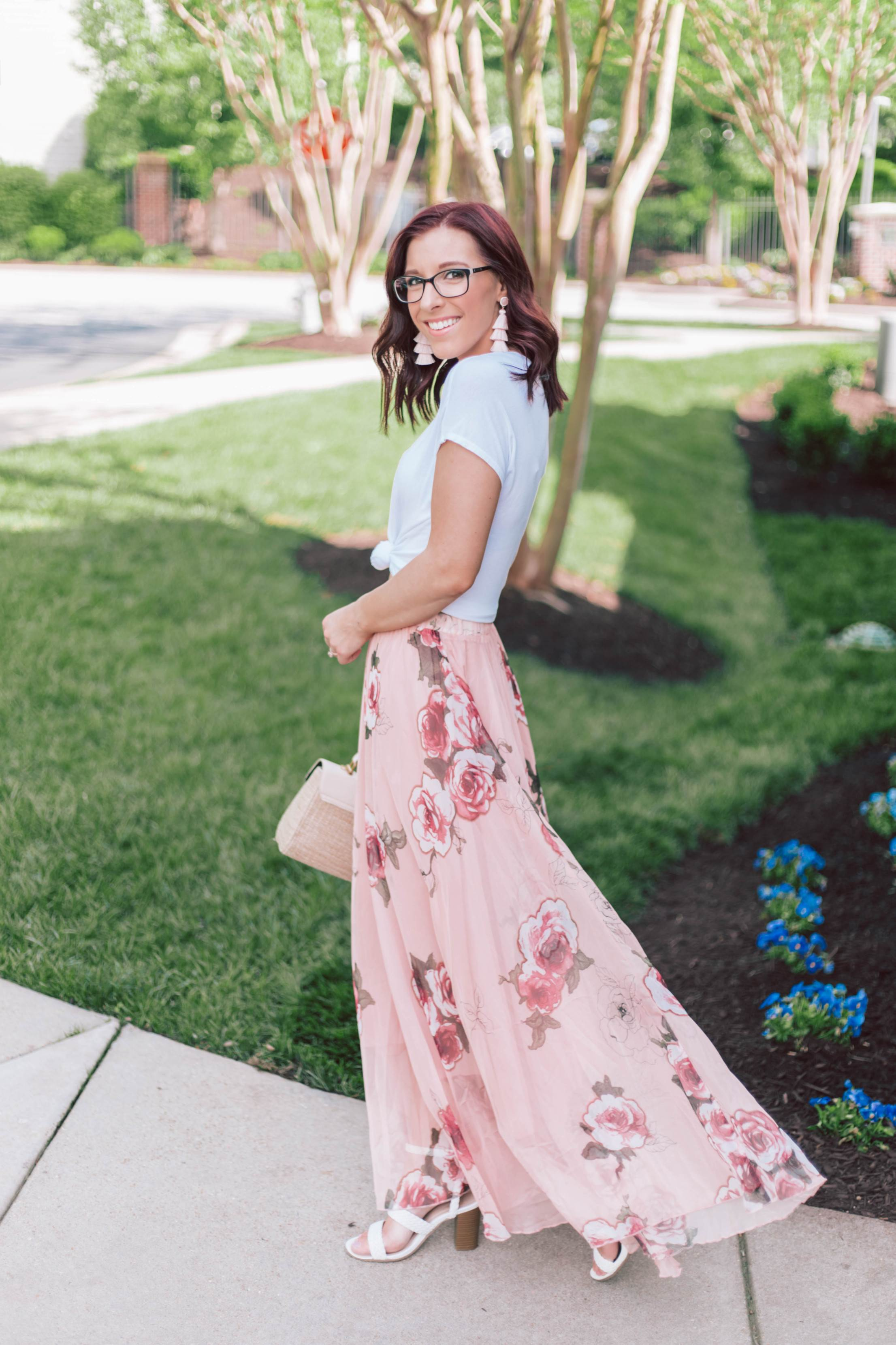 The $50 Showstopping Maxi Skirt You Need This Spring   She Saw Style