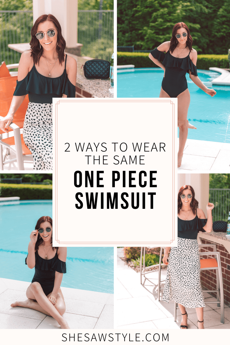 How to Easily Style One Swimsuit Two Ways | She Saw Style