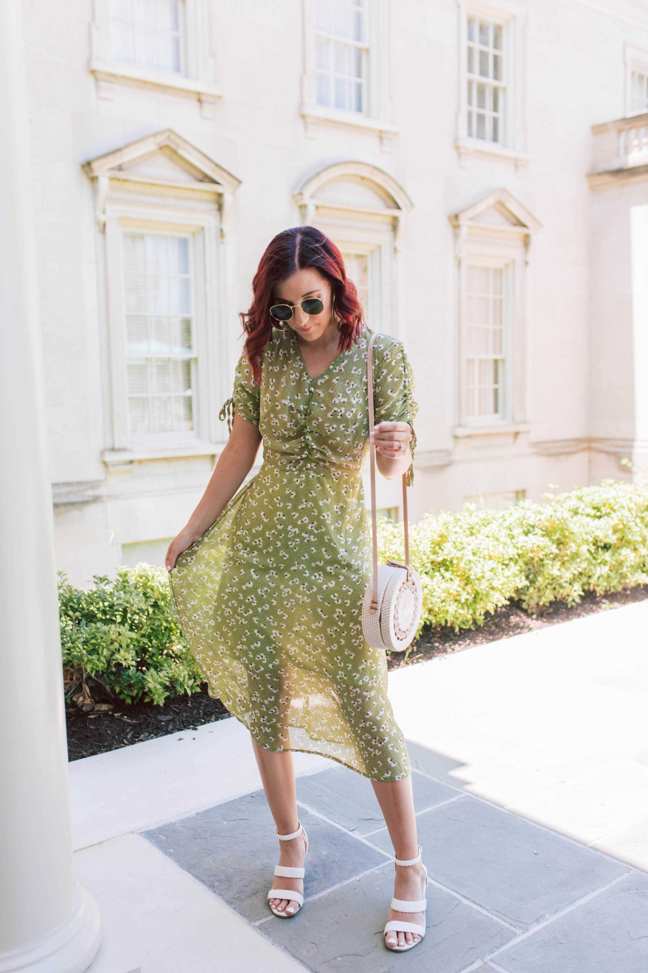 The Comfiest Retro Summer Sundress | She Saw Style