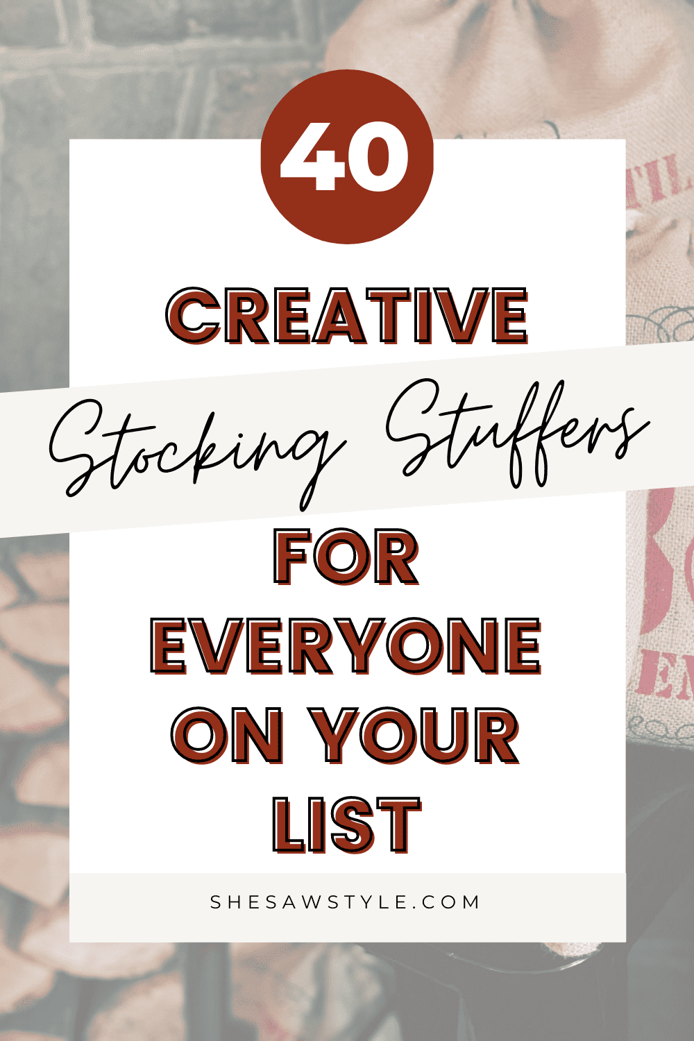 Stocking Stuffers Under $15 That Everyone Will Love | She Saw Style