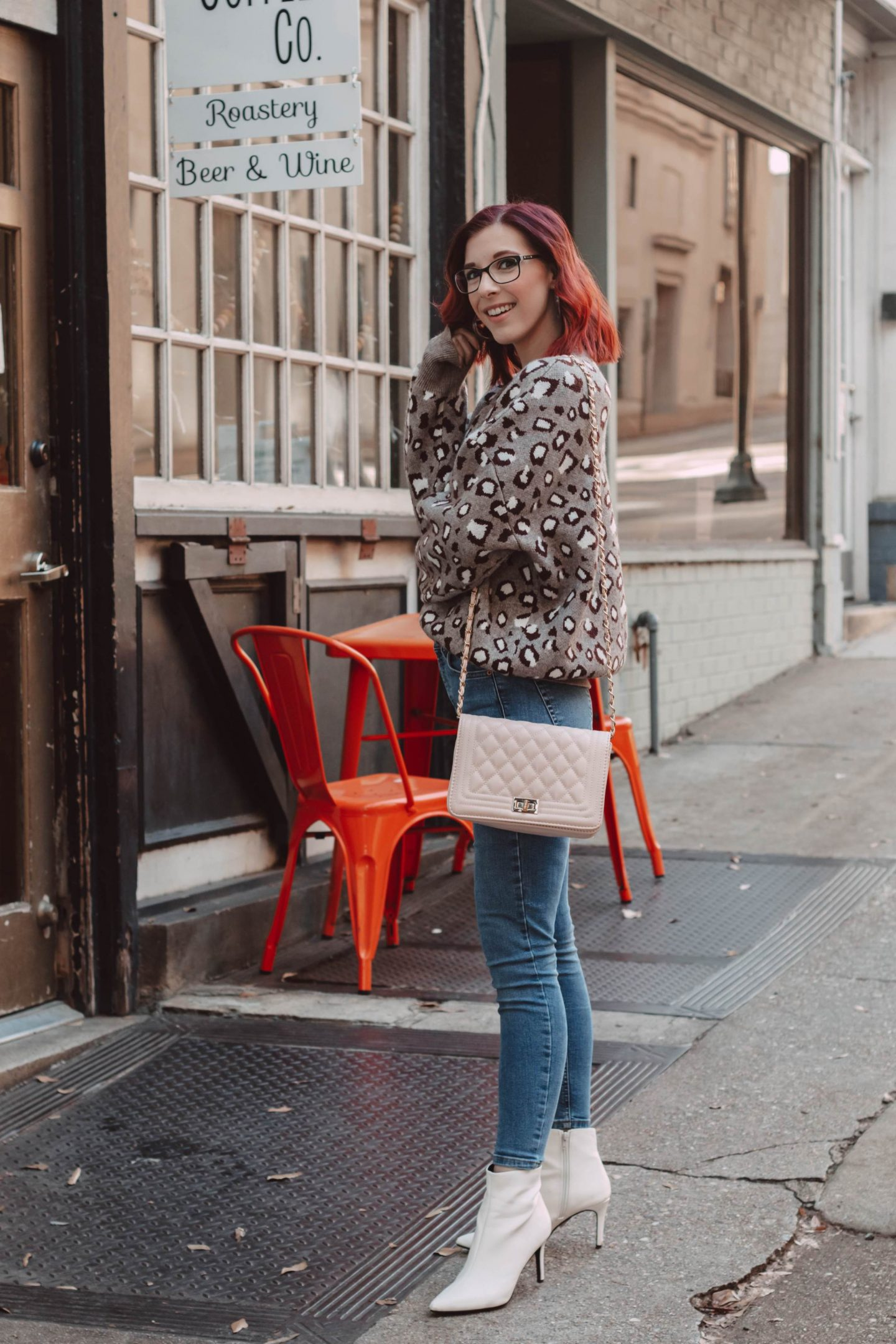 A Simple and Stylish Leopard Print Outfit | She Saw Style