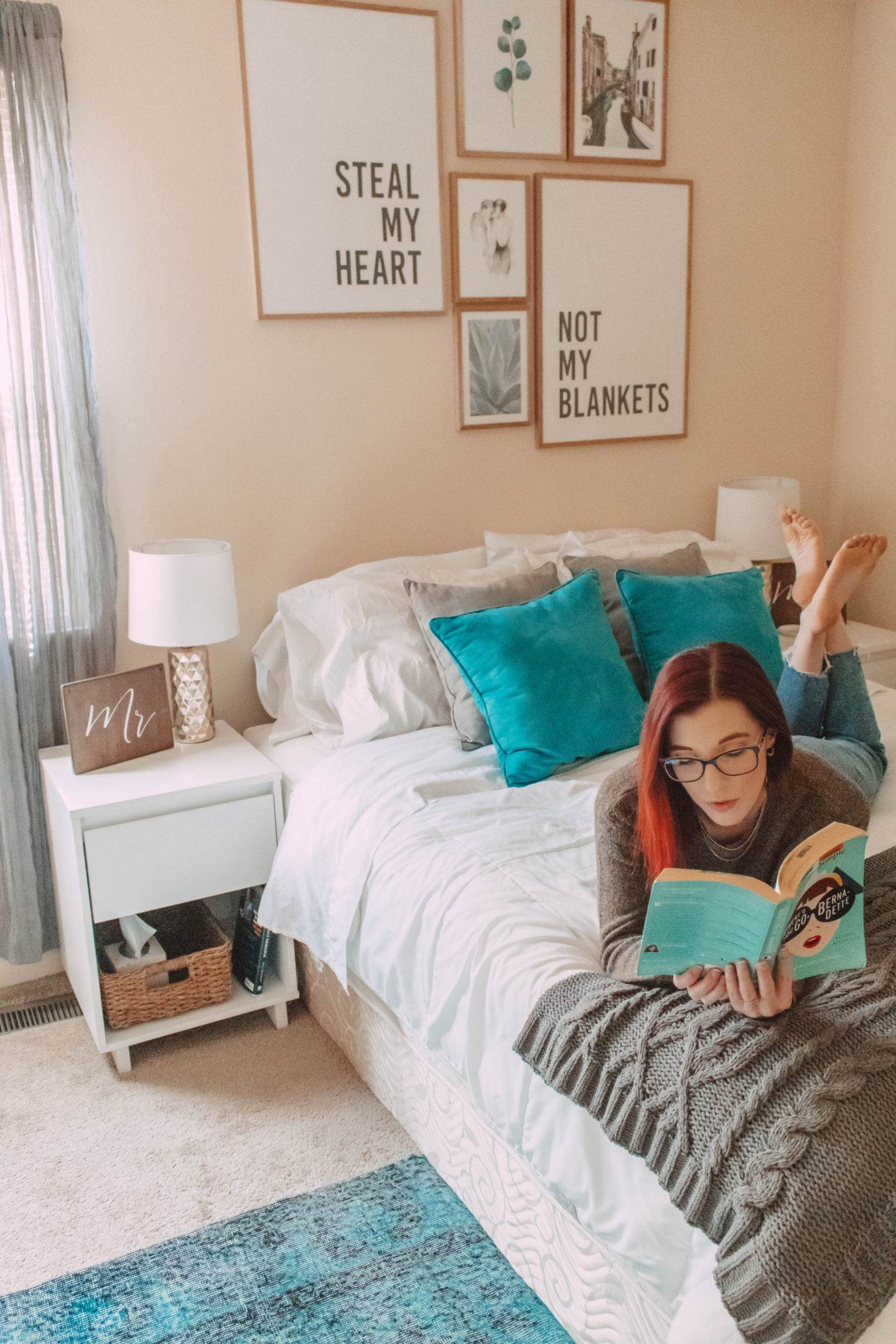 Bright And Beautiful Townhome Decor On A Budget | She Saw Style