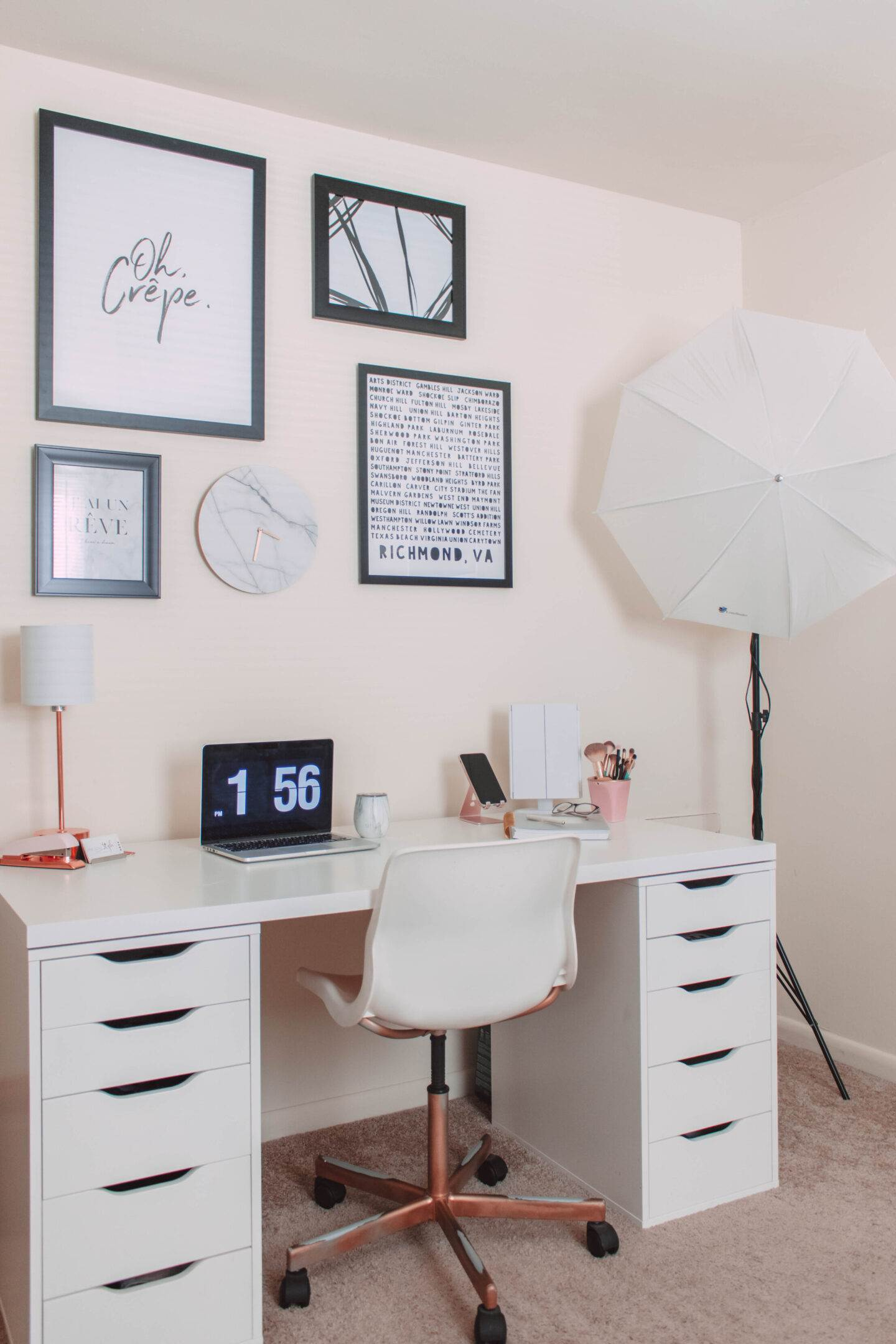 How to Make the Most of Your Home Office | She Saw Style