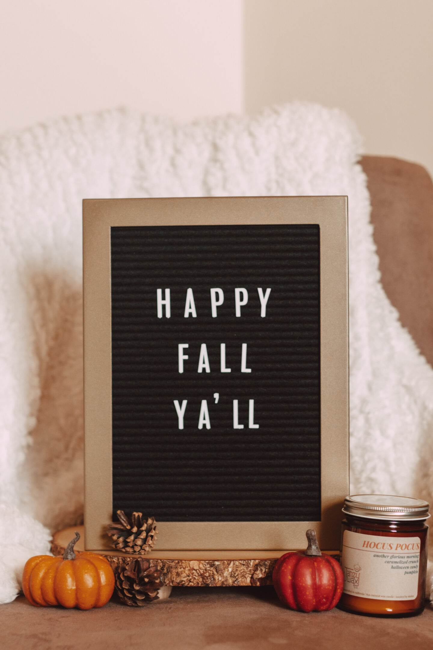 The Best Fall Quotes for Your Letterboard   She Saw Style